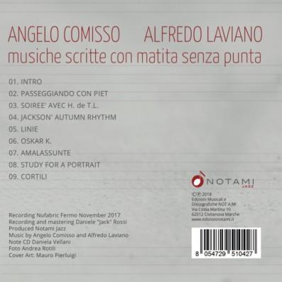 Angelo Comisso, Alfredo Laviano - Musiche scritte con matita senza punta