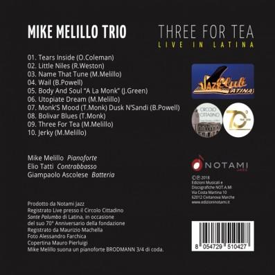 Mike Melillo Trio - Three for tea