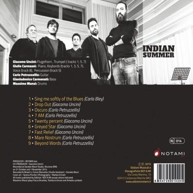 Giacomo Uncini - Indian Summer feat. Giulio Carmassi