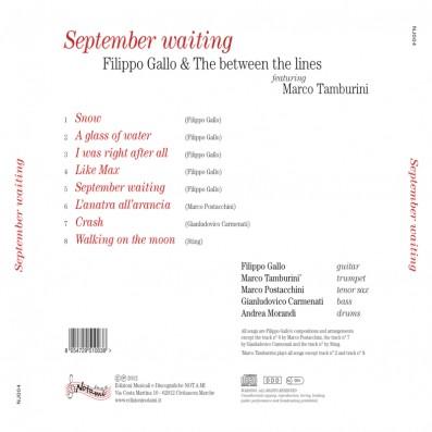 Filippo Gallo - September Waiting - feat. Marco Tamburini
