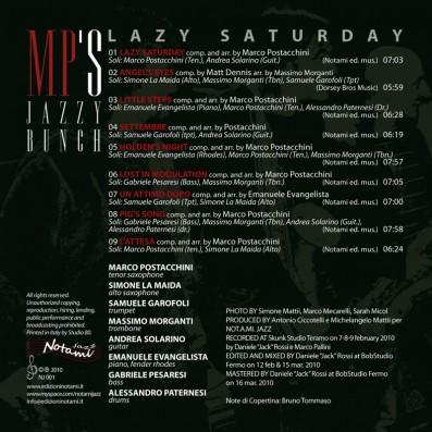 MP'S Jazzy Bunch - Lazy Saturday