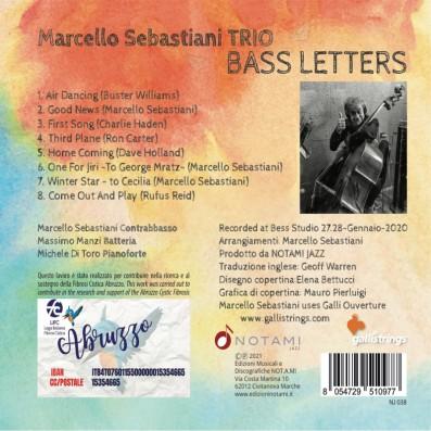 Marcello Sebastiani Trio - Bass letters