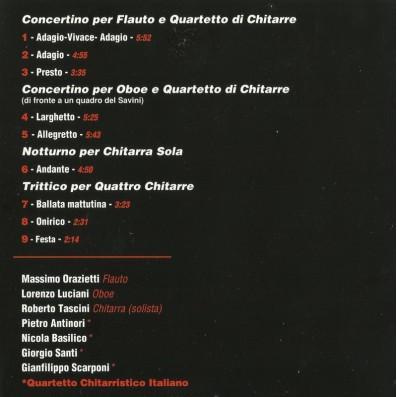 Euro Teodori - Music for winds and guitars