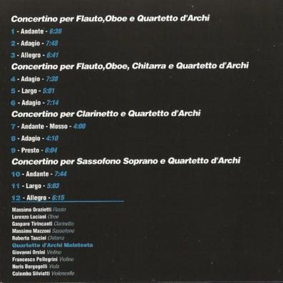 Euro Teodori - Music For Winds, Guitar & Strings
