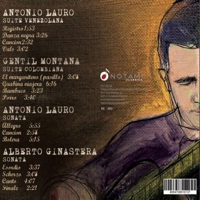 Roberto Tascini - Suites y sonatas de latinoamerica