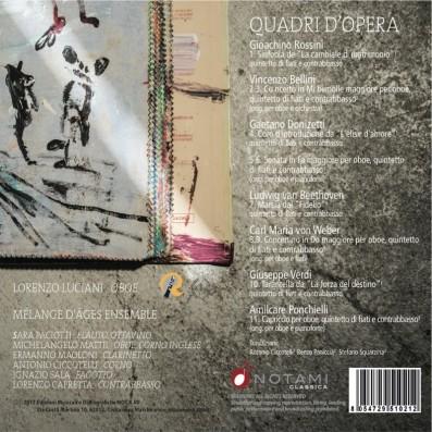 """Lorenzo Luciani, Oboe Solista  Quintetto Di Fiati """"Melange D'ages"""",  Lorenzo Capretta - Contrabbasso - Quadri D'opera"""