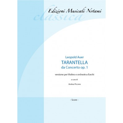 Leopold Auer - Tarantella...