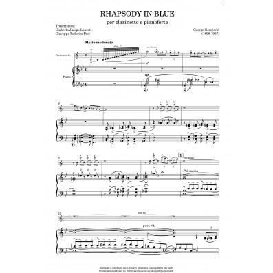 George Gershwin - Rhapsody in blue Arr. Laureti,Paci