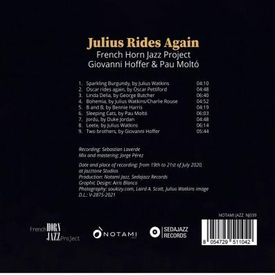 French Horn Jazz Project Giovanni Hoffer & Pau Moltò - Julius Rides again