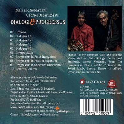 Marcello Sebastiani, Gabriel Oscar Rosati - Dialogi & Progressus