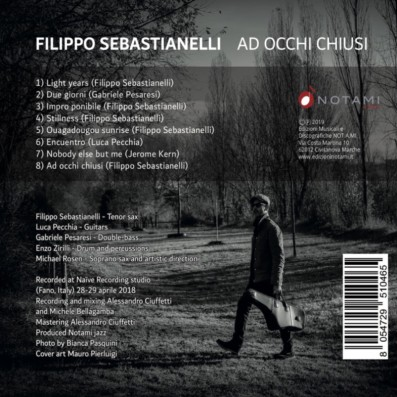 Filippo Sebastianelli - Ad occhi chiusi